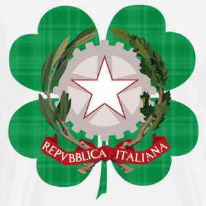 Irish Italian Heritage - Men's Premium T-Shirt