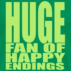 Huge fan of happy endings T-Shirts - Men's Premium T-Shirt