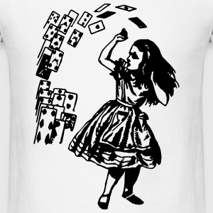 Alice In Wonderland T-Shirts - Men's T-Shirt