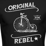 Design ~ Original Rebel - Men's Dark Long Sleeve