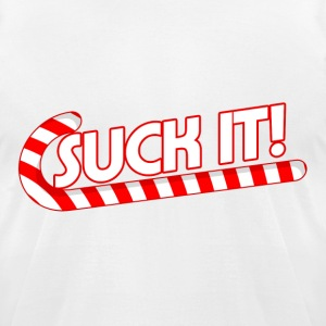 Suck It - Men's T-Shirt by American Apparel