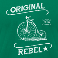 Design ~ Original Rebel - Men's Dark Tee