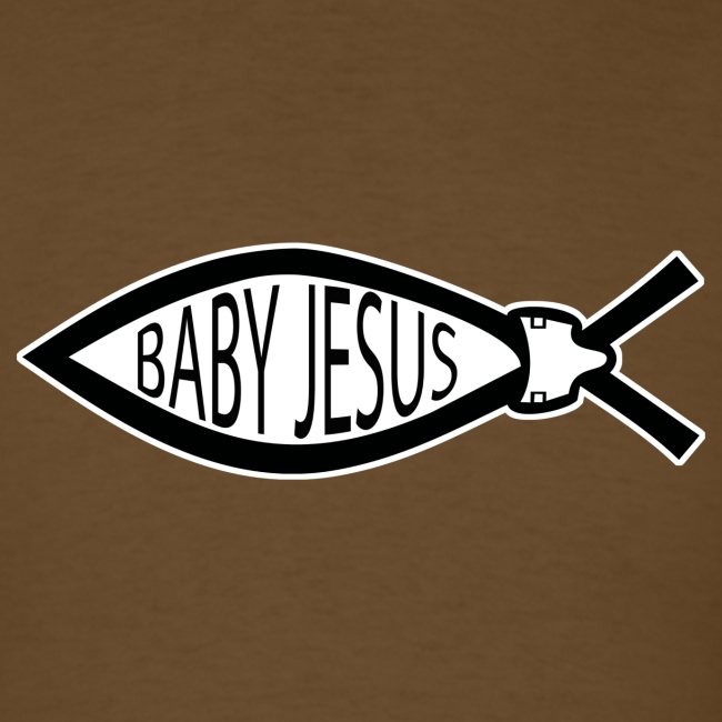 Baby Jesus Fish - www.TedsThreads.co