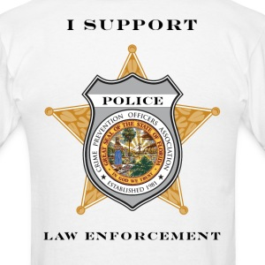 I Support Law Enforcement - Men's T-Shirt