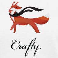 Design ~ Crafty - Women's White T