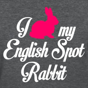 i heart my english spot rabbit - Women's T-Shirt
