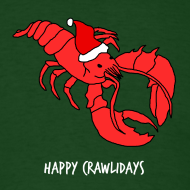 Design ~ Lobstermas - Crawlidays