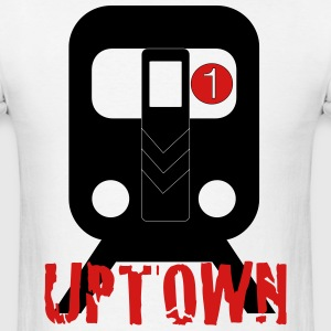 Uptown nyc - Men's T-Shirt