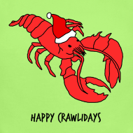 Design ~ Happy Crawlidays - (Baby's  )