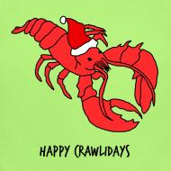 Design ~ Happy Crawlidays - (Baby's  )