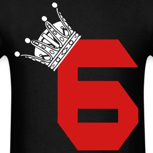 Lebron James 6 King Black - Men's T-Shirt