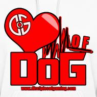 Design ~ Heart of DoG Shirt Womens Hoodie