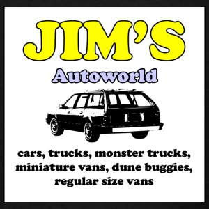Jim's Autoworld - Men's T-Shirt