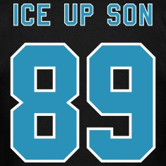 "2-Color ""Ice Up, Son!"" with 89 Number T-Shirts"