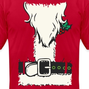 santa suit T-Shirts - Men's T-Shirt by American Apparel