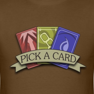 Pick A Card T-Shirts - Men's T-Shirt