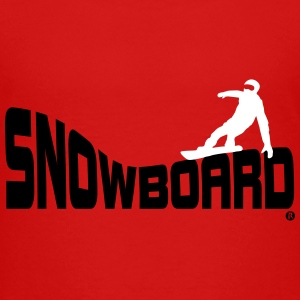 Snowboard Snowboarding Boarding Sports Baby & Toddler Shirts - Toddler Premium T-Shirt