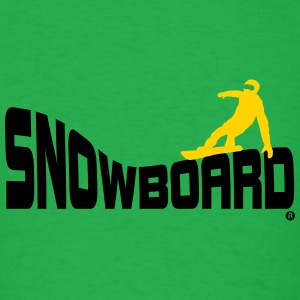 Snowboard Snowboarding Boarding Sports T-Shirts - Men's T-Shirt