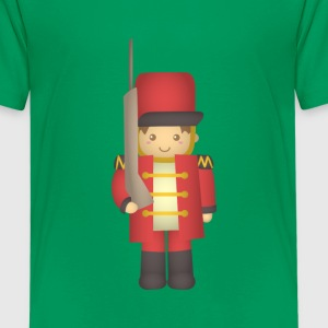 Cute Christmas toy soldier red Kids' Shirts - Kids' Premium T-Shirt