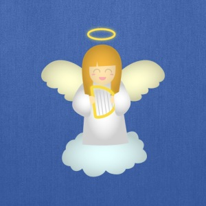 cute guardian angel with harp Bags & backpacks - Tote Bag
