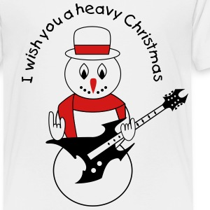 Metal snowman for white Baby & Toddler Shirts - Toddler Premium T-Shirt