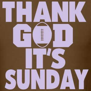 THANK GOD IT'S SUNDAY - Men's T-Shirt