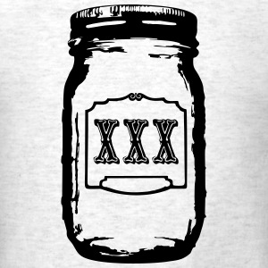 moonshine preserving jar T-Shirts - Men's T-Shirt