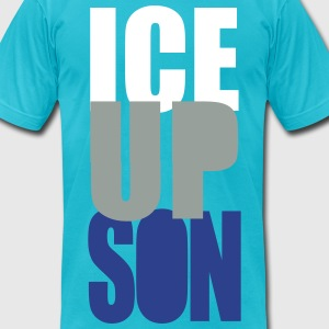 ICE UP SON -BOTTOM T-Shirts - Men's T-Shirt by American Apparel