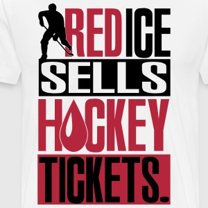 Red ice sells hockey tickets T-Shirts - Men's Premium T-Shirt