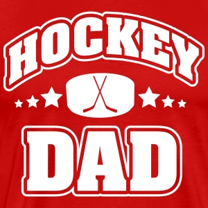 Hockey Dad T-Shirts - Men's Premium T-Shirt