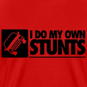 Car: I do my own stunts T-Shirts - Men's Premium T-Shirt