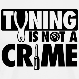 Tuning is not a crime T-Shirts - Men's Premium T-Shirt
