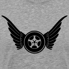 tire with wings T-Shirts