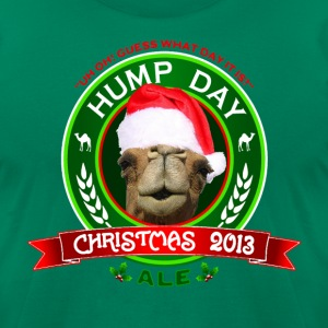 Hump Day Camel Christmas Ale T-shirt - Men's T-Shirt by American Apparel
