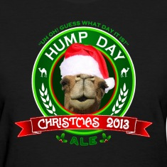 Hump Day Camel Christmas Ale Womens T-shirt
