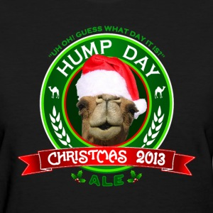 Hump Day Camel Christmas Ale Womens T-shirt - Women's T-Shirt