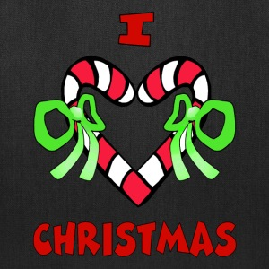 I Love Christmas Tote Bag - Tote Bag