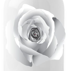 White Rose Bottles & Mugs - Water Bottle