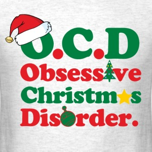 obsessive_christmas_disorder T-Shirts - Men's T-Shirt