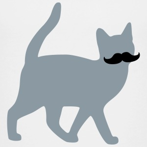 moustache cat Kids' Shirts - Kids' Premium T-Shirt
