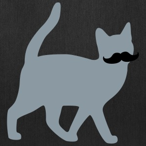 moustache cat Bags & backpacks - Tote Bag