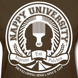 Nappy University White Crest