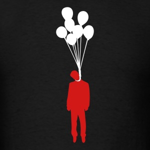 Balloon Suicide T-Shirts - Men's T-Shirt