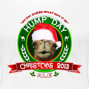 Hump Day Christmas Ale Label Womens Premium T-shir - Women's Premium T-Shirt