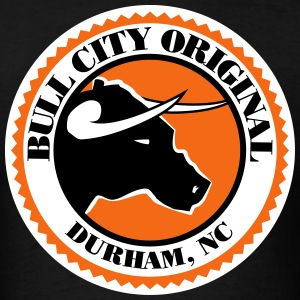 Bull City Original Seal - Men's T-Shirt