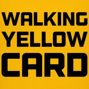 Walking Yellow Card Toddler Tee - Toddler Premium T-Shirt