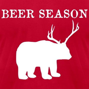 Beer Season T-Shirts - Men's T-Shirt by American Apparel
