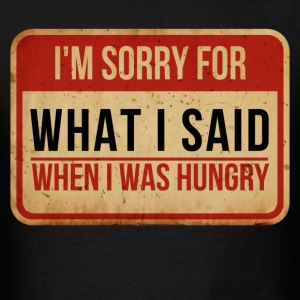 when_i_was_hungry T-Shirts - Men's T-Shirt