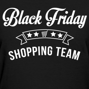 black_friday_shopping_team Women's T-Shirts - Women's T-Shirt
