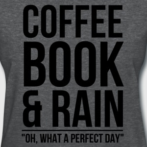coffee_book_rain Women's T-Shirts - Women's T-Shirt
